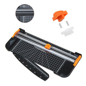5 in 1 Cutter Trimmer A4 Photo Rotary Paper Guillotines Card For Home Office UK