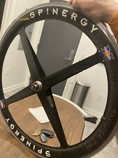 26 Inch MTB Front Spinergy Carbon Fiber Wheel. Vintage