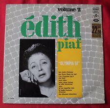 Edith Piaf, Olympia 61 - volume 2, LP - 33 Tours