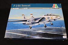 ZB016 ITALERI 1/72 maquette avion 1156 F-14A Tomcat F14A 205 26,3 cm