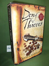 DAVID CHANDLER DEN OF THIEVES FIRST UK PAPERBACK EDITION UNREAD