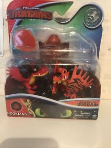 Rare how to train your dragon new legends evolved rare Hookfang set figures