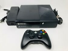 Microsoft Xbox 360 E 4Gb Game Console Bundle Model 1538 Hdmi Hook Up *Cleaned*
