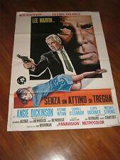 MANIFESTO, SENZA UN ATTIMO DI TREGUA (POINT BLANK )1968,LEE MARVIN BOORMAN,