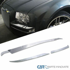 Chrysler 05-10 300 Base Limited Touring Front+Rear Bumper Trims Deck Covers 5PC