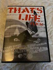That'S Life Corey Duffel Leo Romero Hesh Foundation Team Skateboarding Dvd New