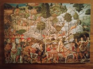 Procession of the Magi Wentworth Wooden Miniature Jigsaw Puzzle 40 pieces Whimsy
