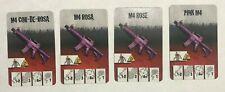 Zombicide Pink M4 card CMoN
