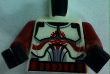 NEU Lego Star Wars Torso Clone Commander Fox Minifigur