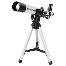 Refractor Terrestrial Astronomical Telescope Optical Lens With Tripod For Kids