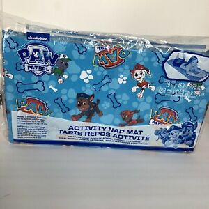 Ginsey Activity Nap Mat Paw Patrol .75x19x45 Inches Blue And Red