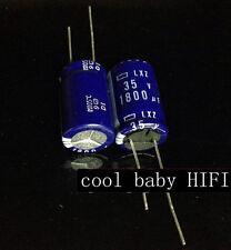 100pcs NCC Nippon LXZ 1800mfd 35v 1800uf long life electrolytic Capacitor16*25mm