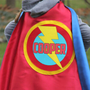 Easter Ready PERSONALIZED Girl Birthday Gift SUPERHERO CAPE Kid Costume