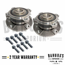 x2 FRONT WHEEL BEARING HUB FIT FOR A BMW 5-SERIES E39, Z8 E52 1996-2004 *NEW*