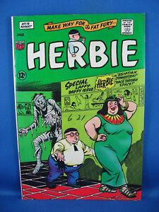 Herbie #19 (Aug 1966, American Comics Group) VF+