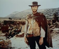 Clint Eastwood signed 8x10