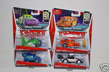 New Disney Cars Boost, Wingo, Snot Rod, DJ, some with Flames, 1:55, Diecast
