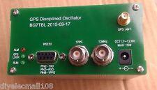 10MHZ OUTPUT SINE WAVE GPS DISCiPLINED CLOCK GPSDO + Antenna + power supply