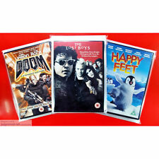 DVD Display Post and Store. New Protective Covers Sleeve Wraps Clear Size1 x 10