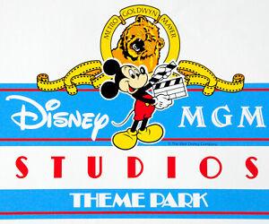 Vintage Disney MGM Studios Theme Park Vinyl Coated Paper Sign