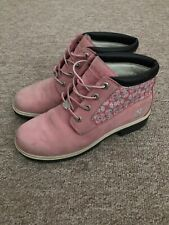 Timberland Boots Pink Size 6 (8W)