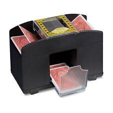 Poker et cartes à jouer noirs en plastique