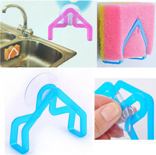 Useful Kitchen Tools Gadget Decor Dish Cloth Sponge Holder Suction Cup Sink