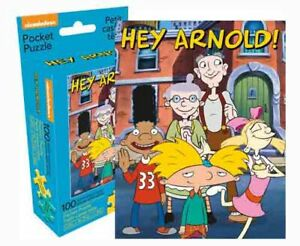 100 piece Nickelodeon Retro  90's 'HEY ARNOLD' Puzzle Licensed Product
