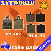 FRONT REAR Brake Pads TM T.M. SMM 125 2T Black Dream 2008-2012 2013 2014 2015