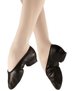 Black Bloch Paris Leather teaching dance shoes - size UK 3