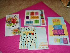 4 unique birthday cards w/ matching envelopes - from St Joseph Indian School