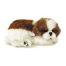 PERFECT PETZZZ SHIH TZU PLUSH PUPPY BREATHING HUGGABLE ANIMAL DOG REAL PET SOFT