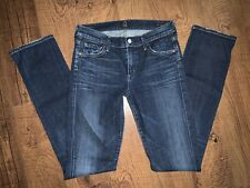 CITIZENS OF HUMANITY ELSON MEDIUM RISE STRAIGHT LEG JEANS! 28