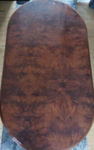 Vintage wooden table used
