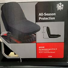 "Classic Accessories Tractor Seat Cover Fits up to 15""H Backrests (w/o armrest)"