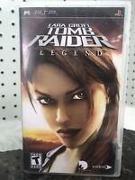 Lara Croft Tomb Raider Legend Sony PSP 2006 Eidos UMD Video Game Playstation