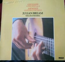"JULIAN BREAM - 12"" Vinyl Album - Guitar Concerto Giuliani - 1981 - RCA Gold Seal"