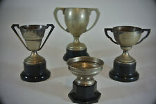 4 Large Trophies Shabby Chic Pub Man Cave Car Boot