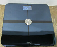 Withings Body+ BMI Body Composition Smart Wi-Fi Scale Black Tested and Working