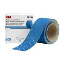 3M-36198 Hookit Blue Abrasive Sheet Roll Multi-hole,(2.75 inch x 13y) (600 Grit)
