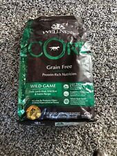 (6) Bags Wellness CORE Grain Free Dry Dog Food, Duck, Turkey, Boar & Rabbit, 4lb