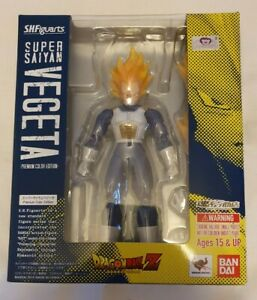 Bandai S.H.Figuarts Vegeta Super Saiyan (Premium Colour) Dragon Ball Z