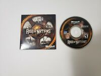 Rise Of Nations Video Game PC FREE SHIPPING