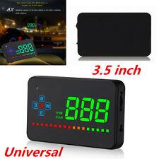 Universal Car GPS Speedometer Digital Head Up Display HUD Projection Speed Alarm