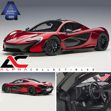 AUTOART 12243 1:12 McLAREN P1 (VOLCANO RED) SUPERCAR