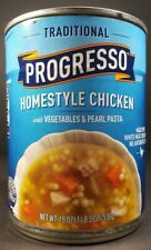 Progresso HOMESTYLE CHICKEN w VEGETABLES PEARL PASTA Soup 19 oz 1lb 03 oz Canned