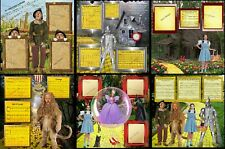 WIZARD OF OZ SET of 6 PAGES