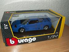 "Bburago  Bugatti 110 EB 1991  "" blau ""  NEU/OVP 1:24"