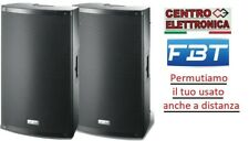 COPPIA FBT XLITE 12A Casse Amplificate Attive Diffusori Audio 2000 Watt