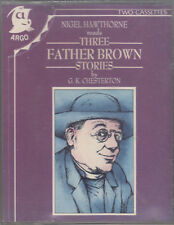 G K Chesterton Three Father Brown Stories 2 Cassette Audio Book Nigel Hawthorne